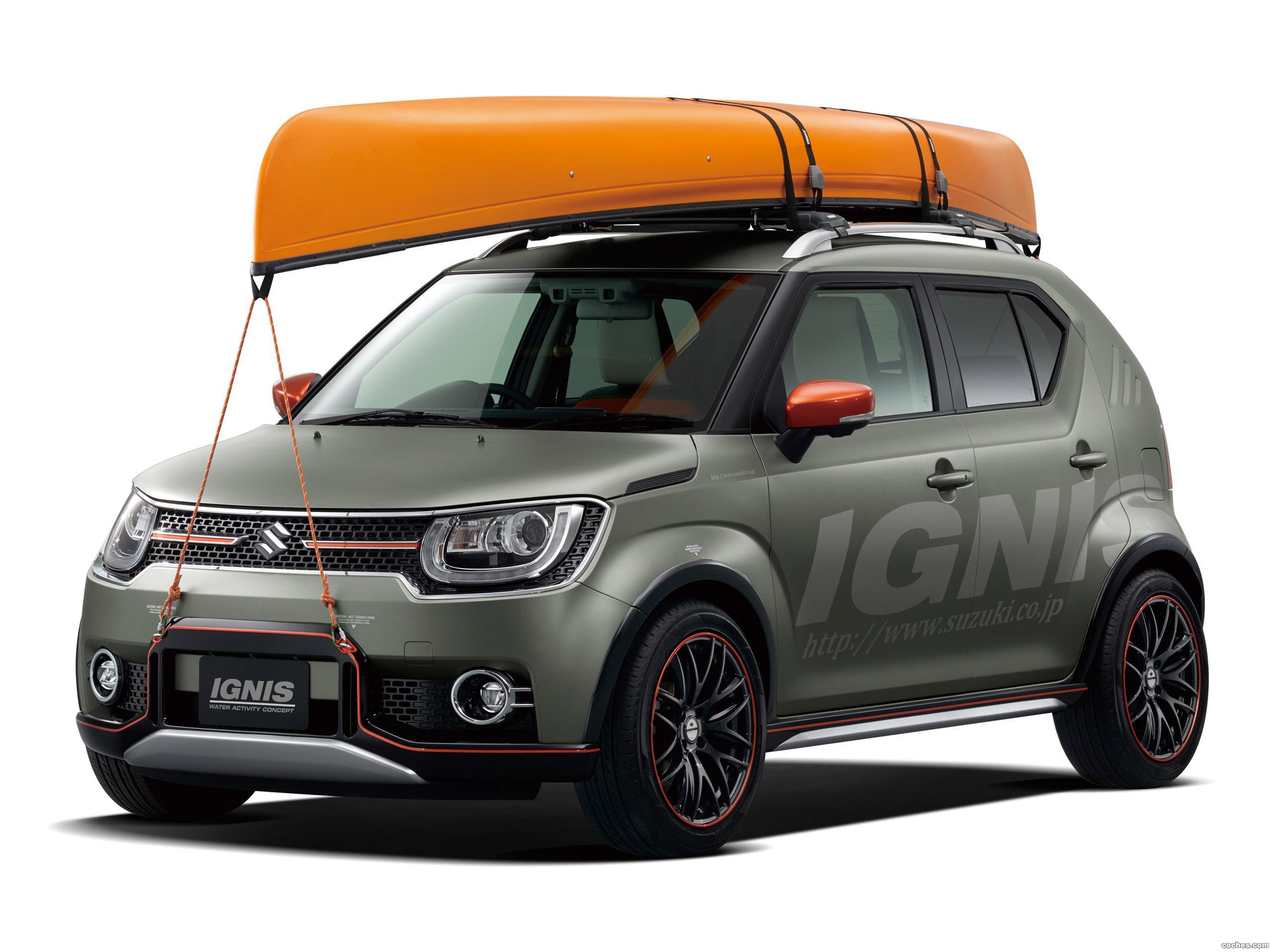 Foto 0 de Suzuki Ignis Water Activity Concept 2016