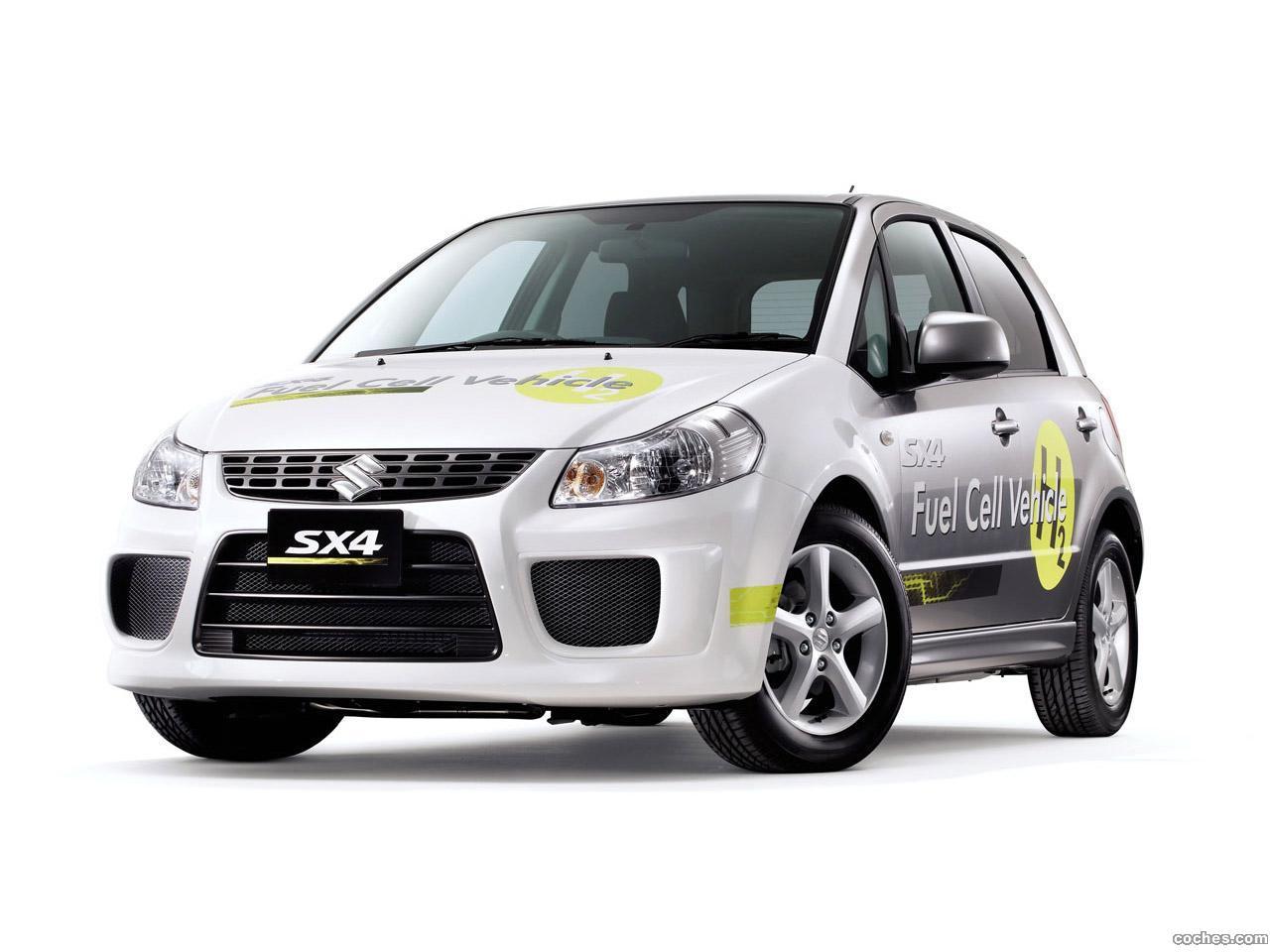 Foto 0 de Suzuki SX4 Fuel Cell Concept 2009