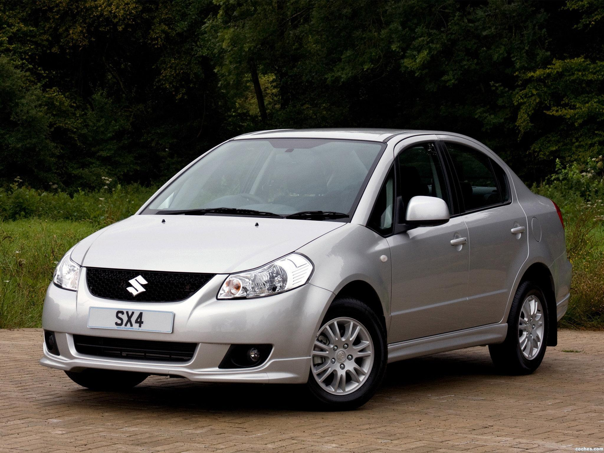 Foto 0 de Suzuki SX4 Sedan UK 2009