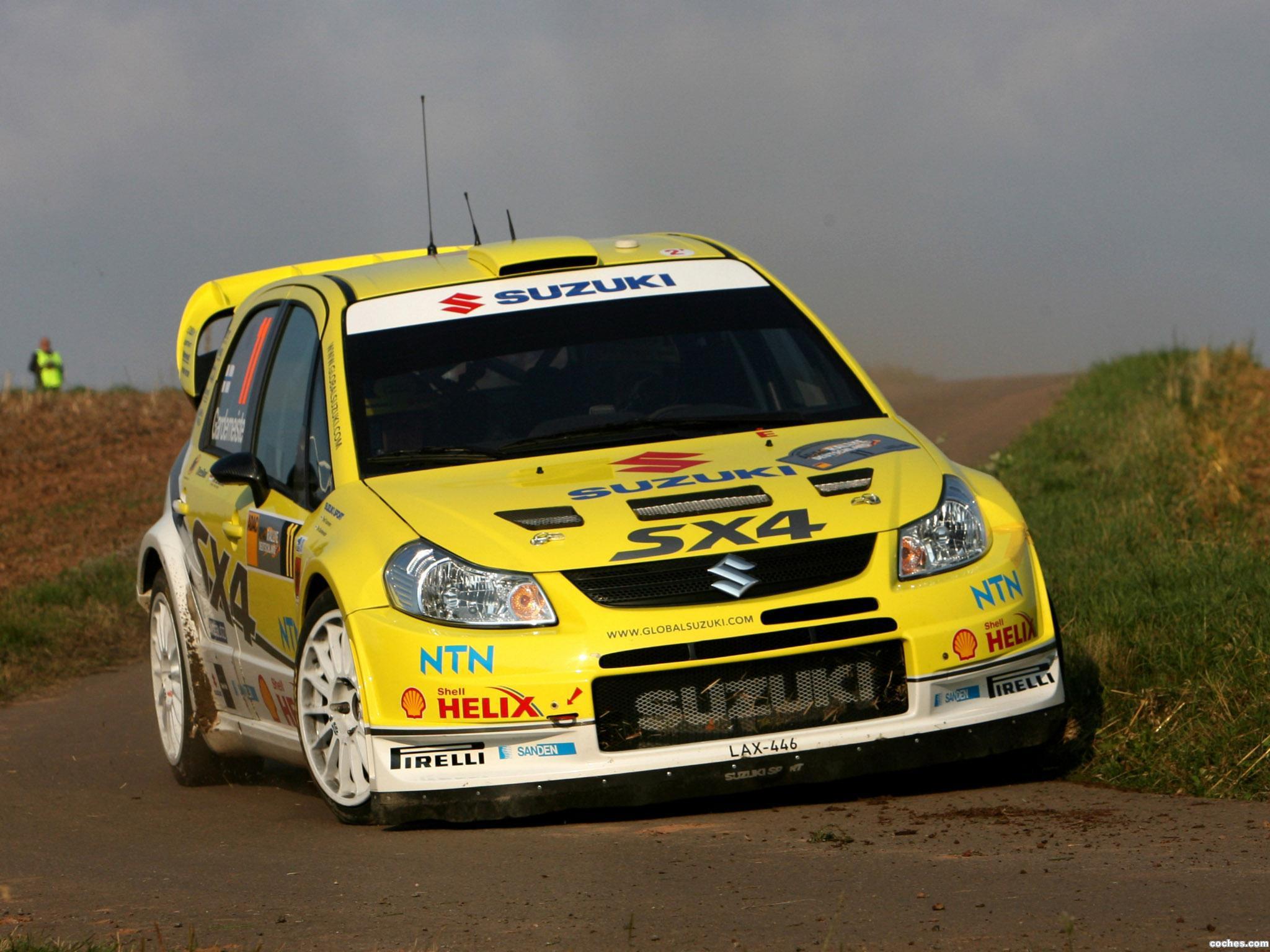 Foto 0 de Suzuki SX4 WRC 2007