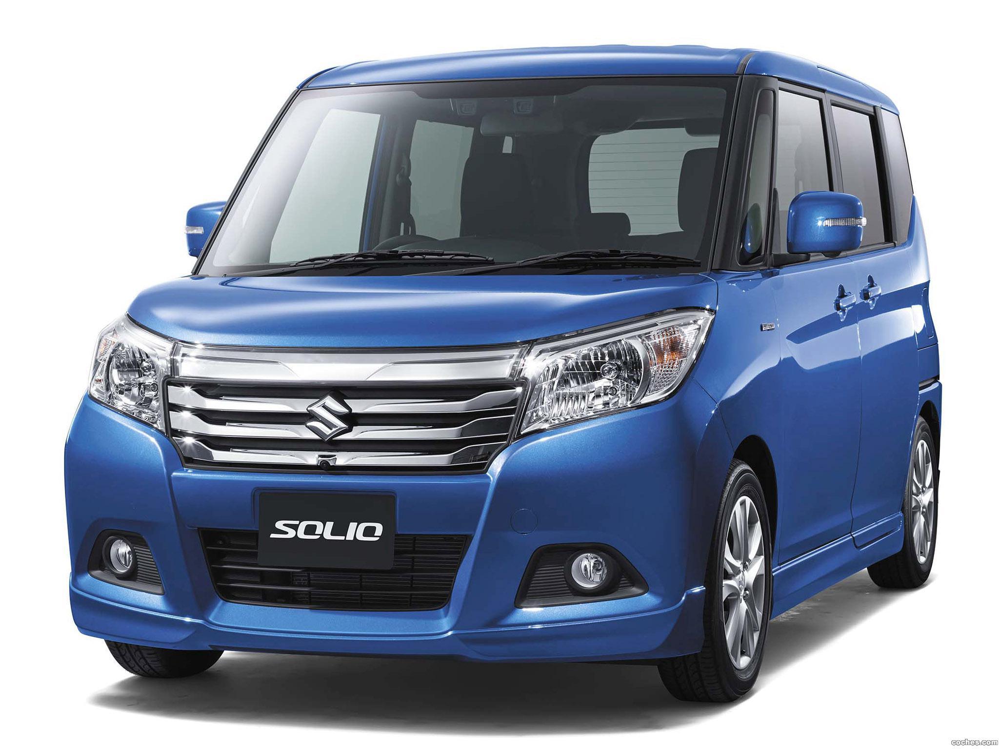 Foto 1 de Suzuki Solio Hybrid  2015