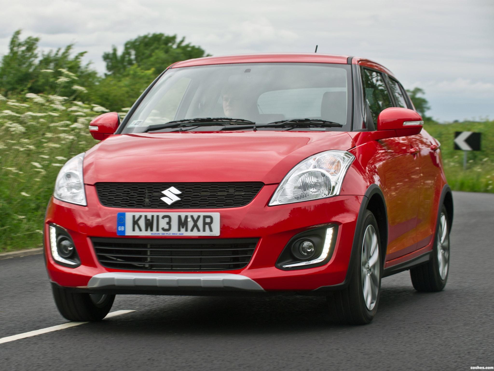 Foto 0 de Suzuki Swift 4x4 SZ4 UK 2013
