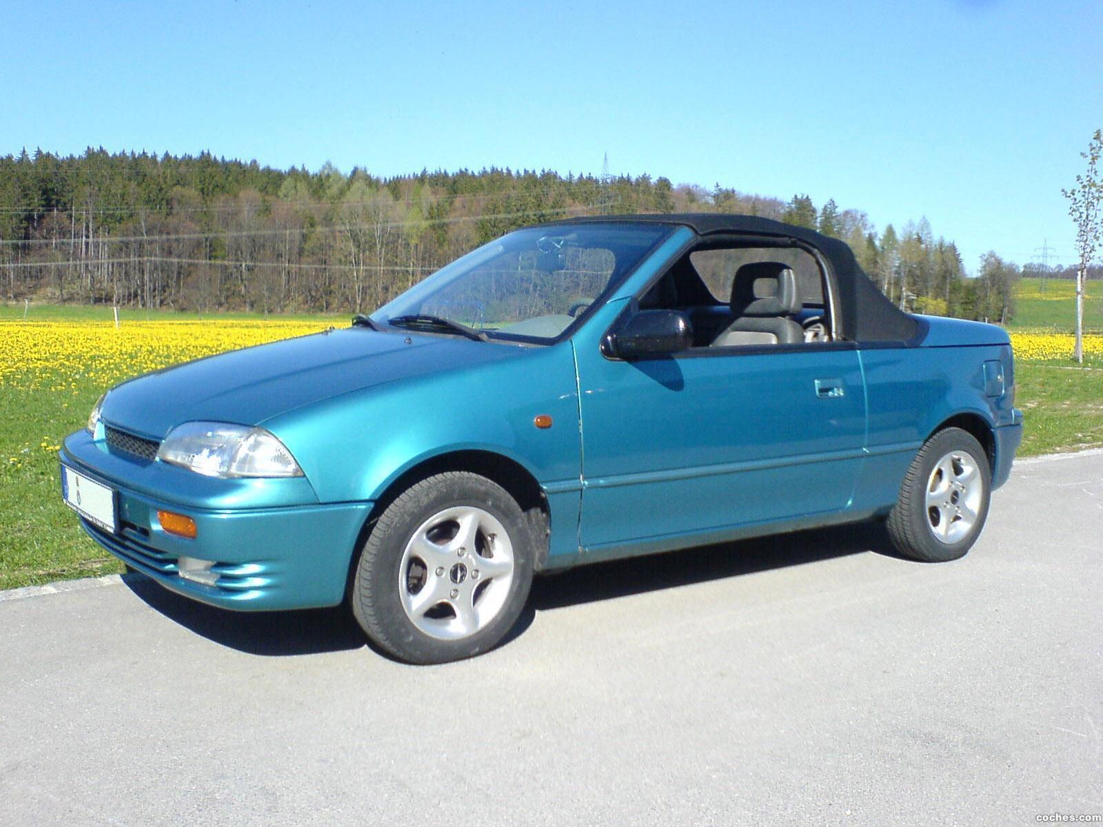 Foto 0 de Suzuki Swift Cabriolet 1992
