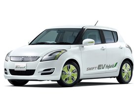 Ver foto 2 de Suzuki Swift EV Hybrid 2011
