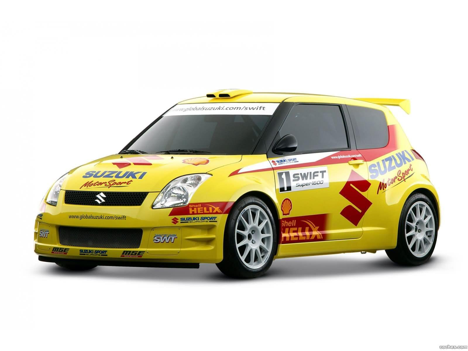 Foto 0 de Suzuki Swift Rally Car 2005