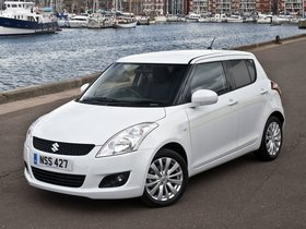 Fotos de Suzuki Swift SZ4 UK 2010