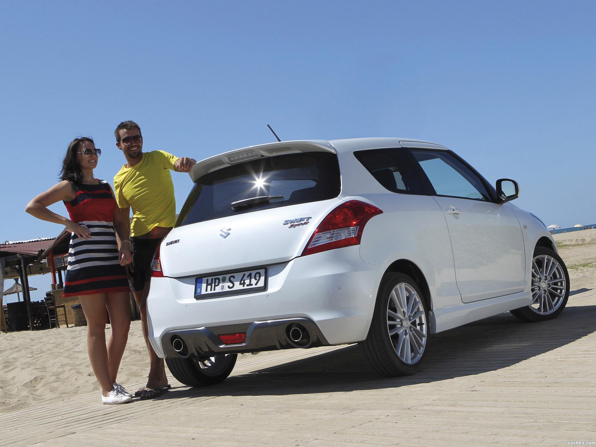 Foto 14 de Suzuki Swift Sport 2011