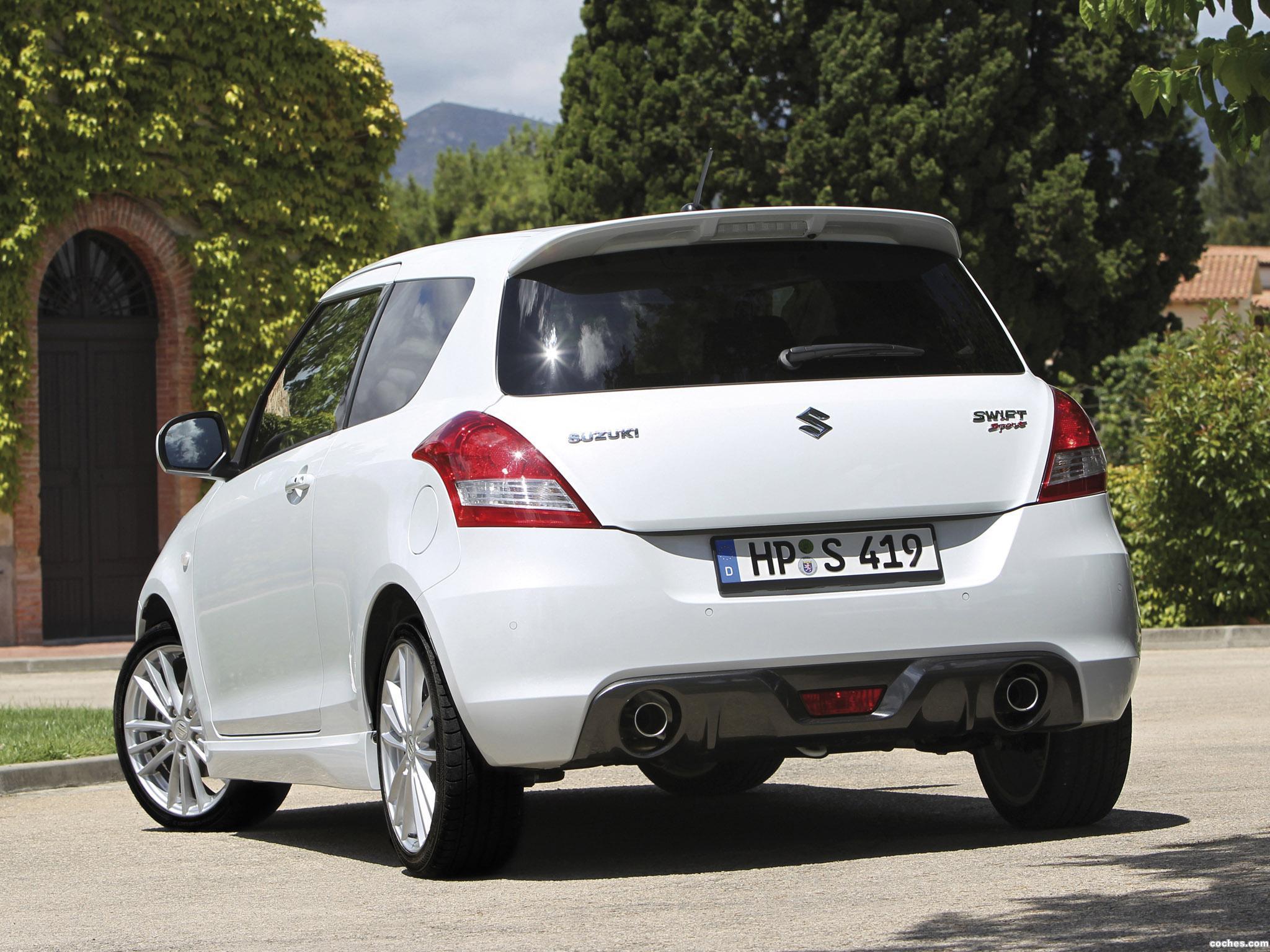 Foto 12 de Suzuki Swift Sport 2011