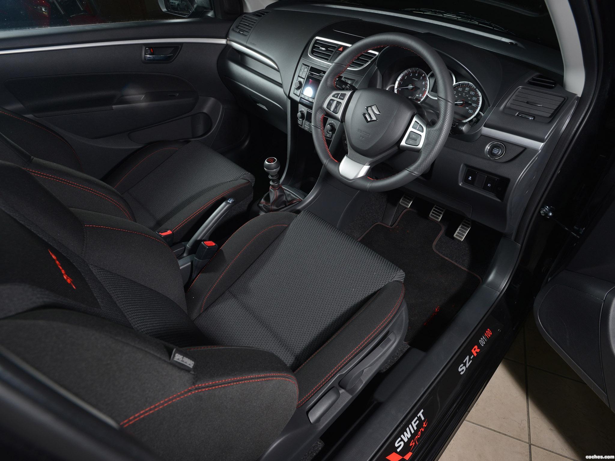 Foto 5 de Suzuki Swift Sport SZ-R Limited Edition UK  2013