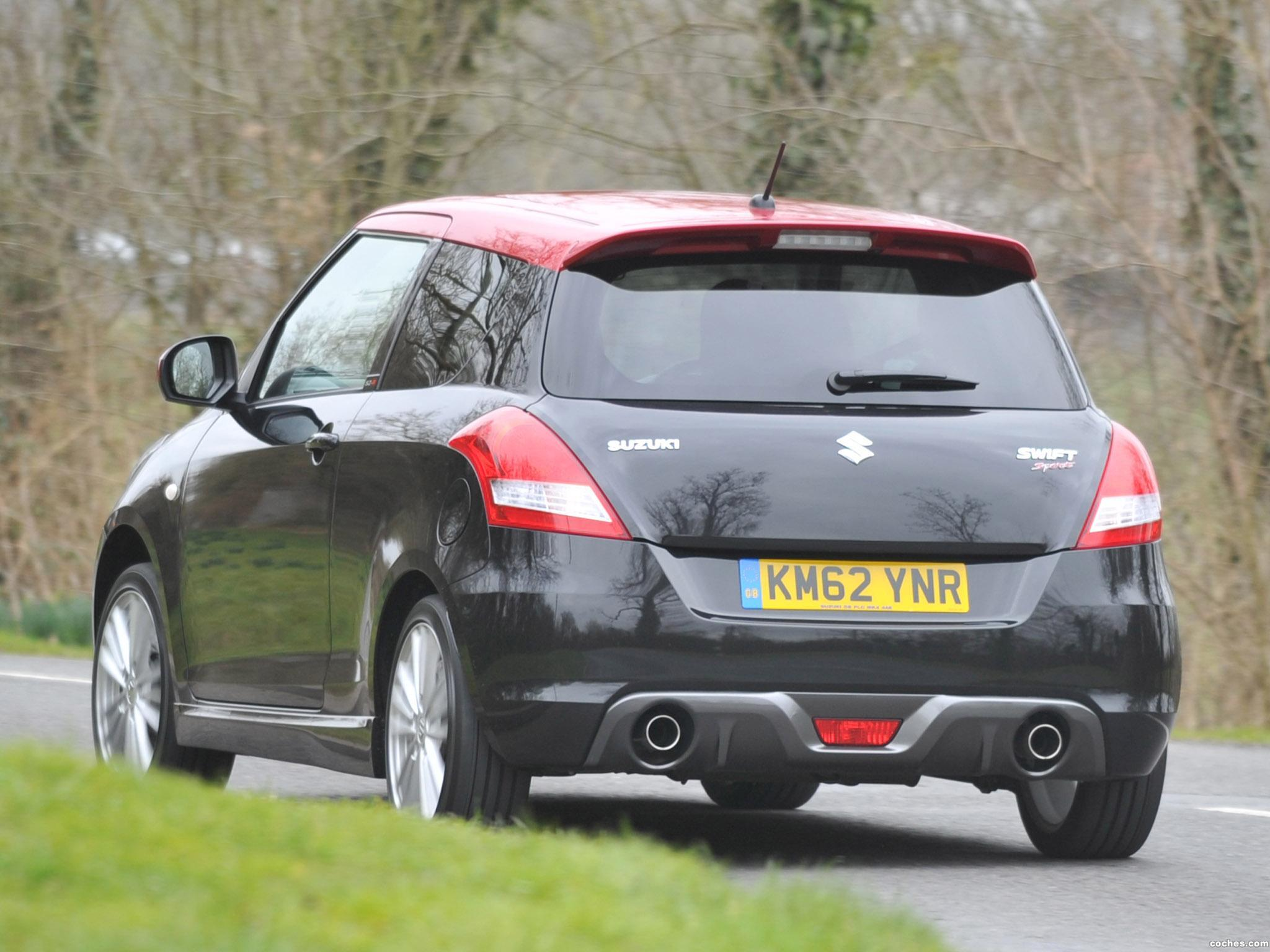 Foto 1 de Suzuki Swift Sport SZ-R Limited Edition UK  2013