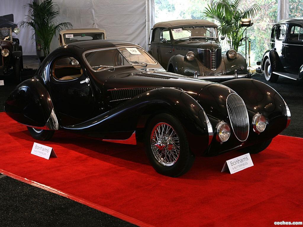 Foto 1 de Talbot Lago T150C Figoni et Falaschi 1938