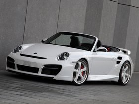 Fotos de Porsche Techart 911 Cabrio Turbo Aerokit II 2010