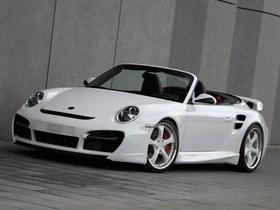 Fotos de Porsche Techart 911 Cabrio Turbo Aerokit II 2010