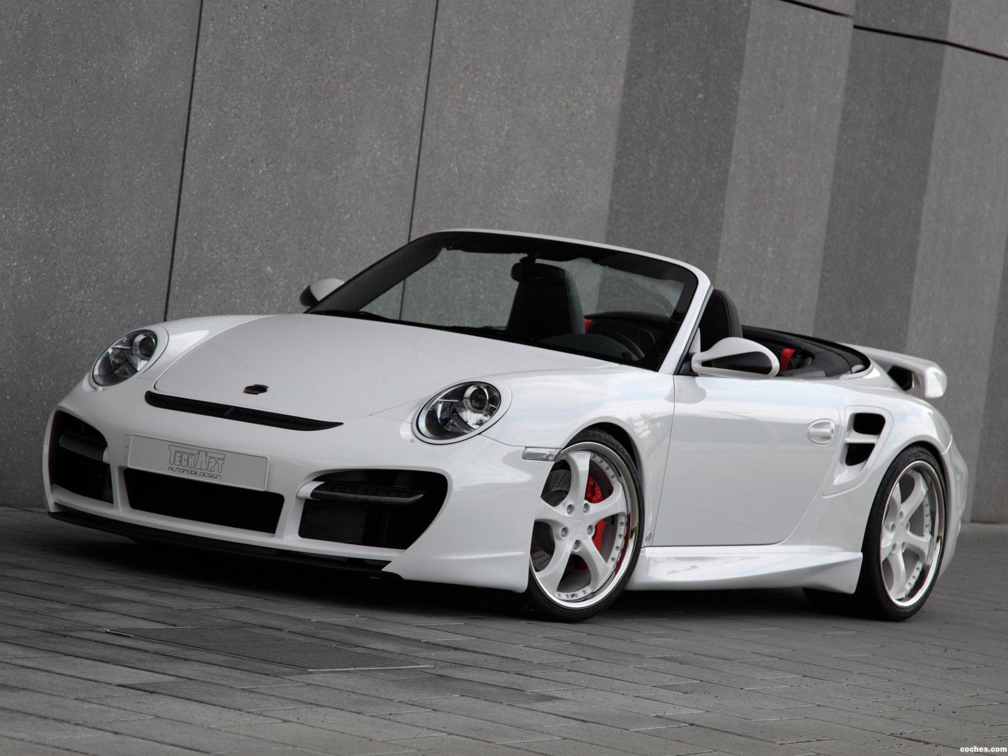 Foto 0 de Porsche Techart 911 Cabrio Turbo Aerokit II 2010