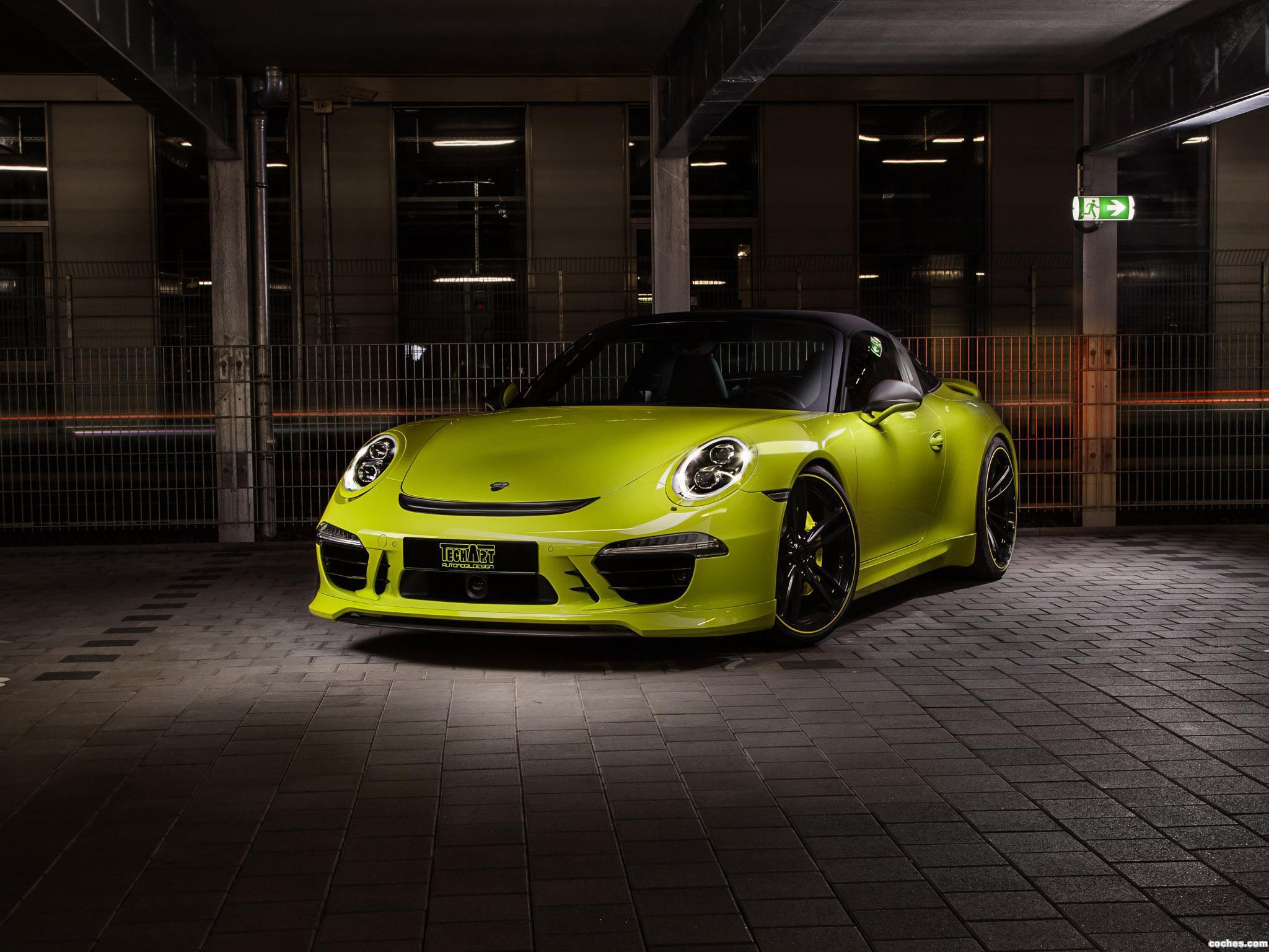 Foto 0 de Porsche Techart 911 Targa 4S 991 2014