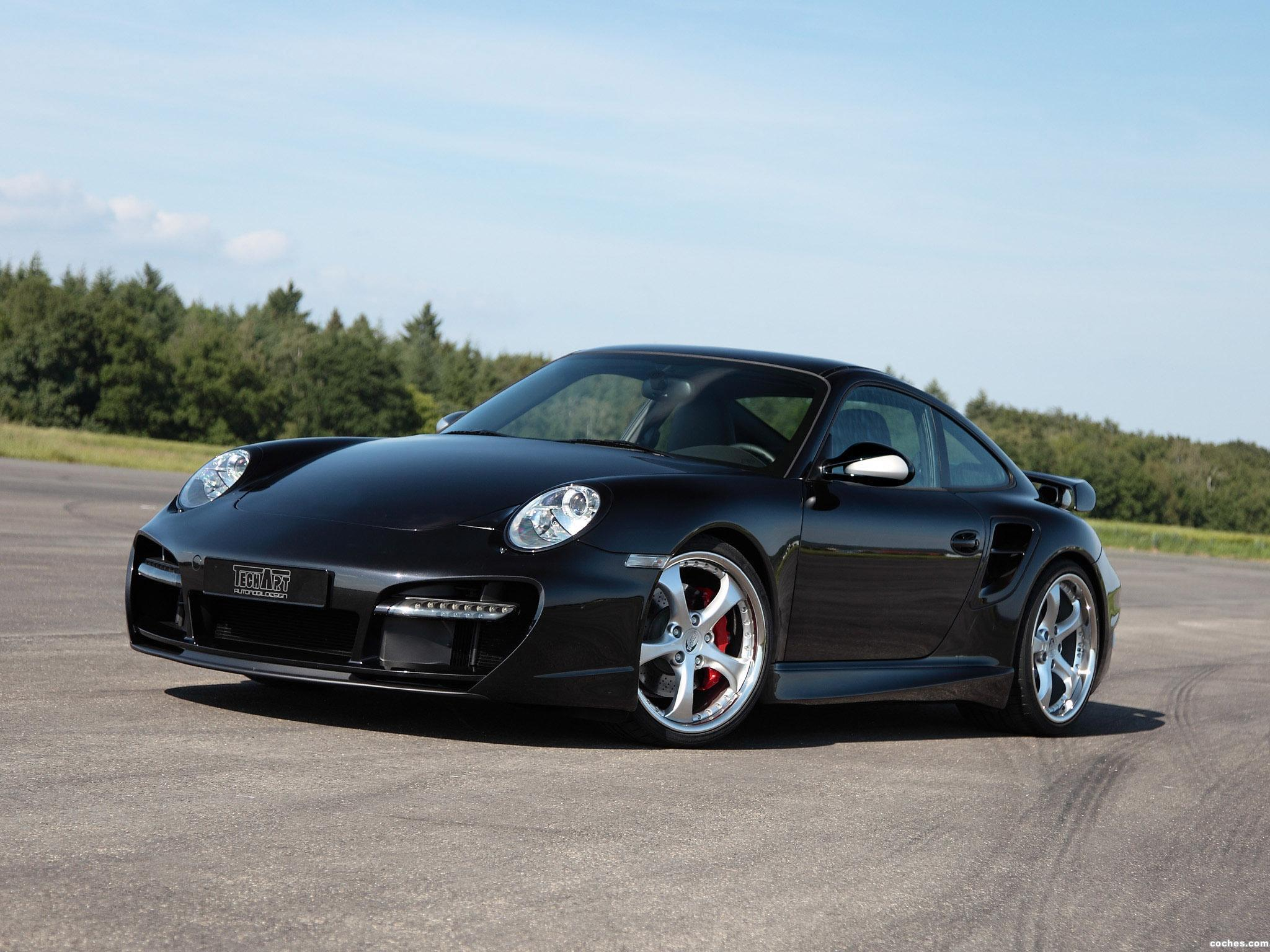 Foto 0 de Techart Porsche 911 Turbo Aerokit II 2010
