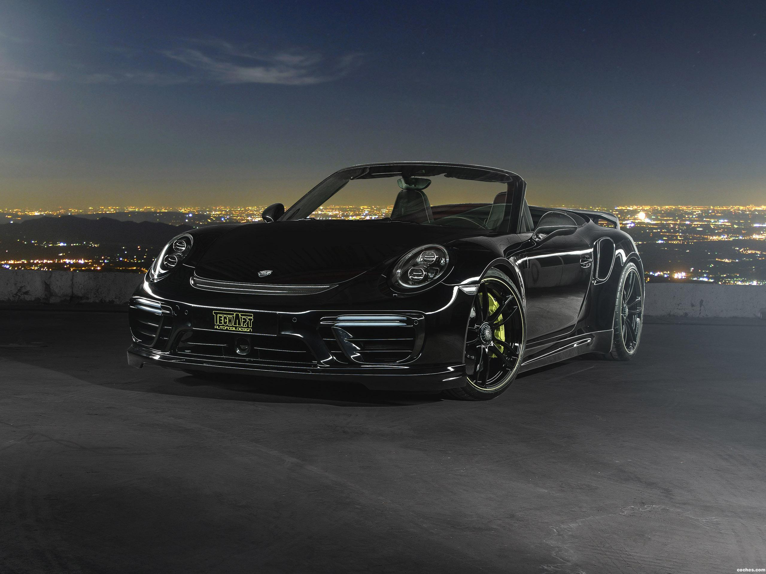Foto 0 de Techart Porsche 911 Turbo Cabriolet 991 2016