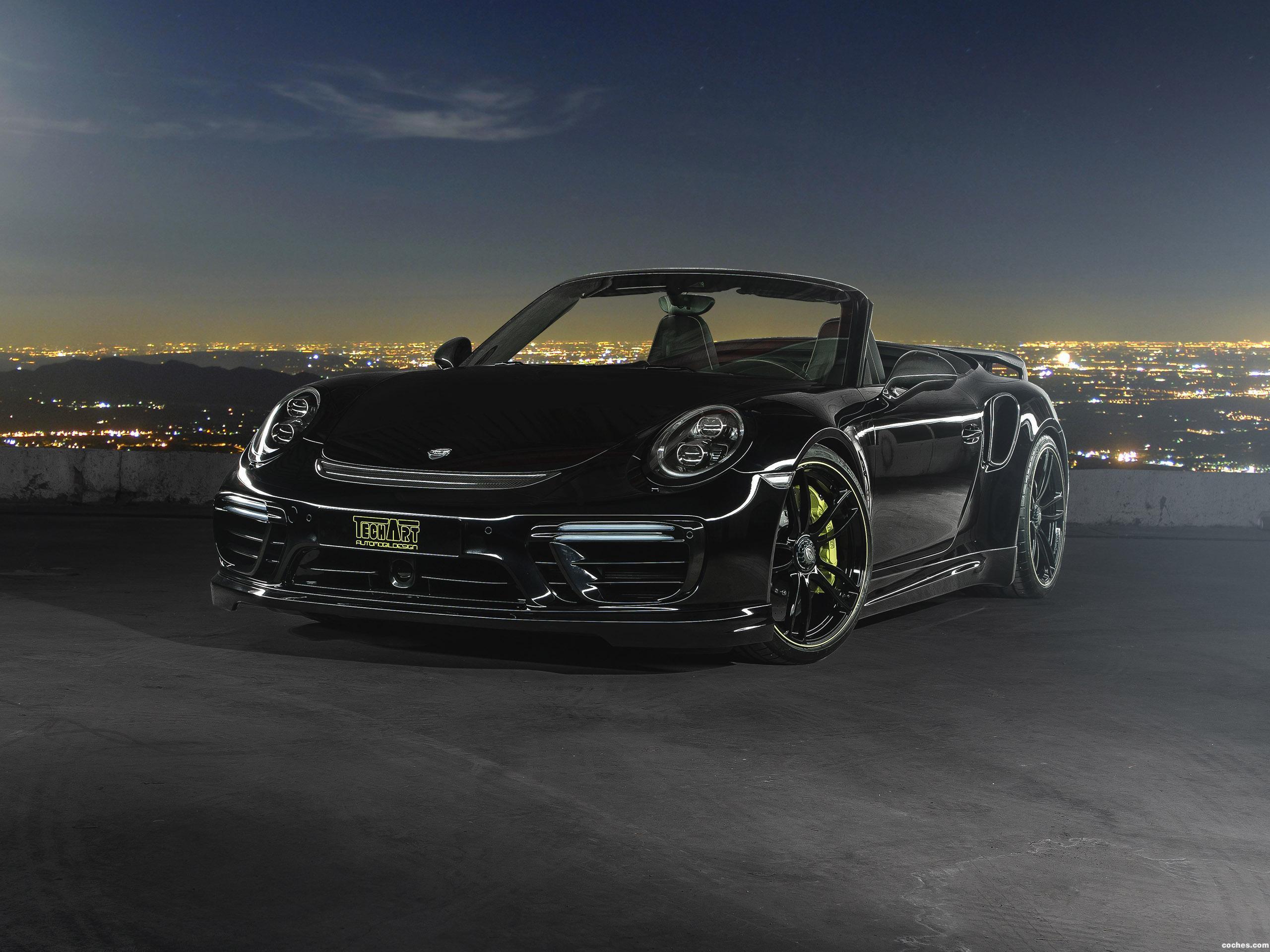 Foto 0 de Techart Porsche 911 Turbo Cabriolet 991 2016