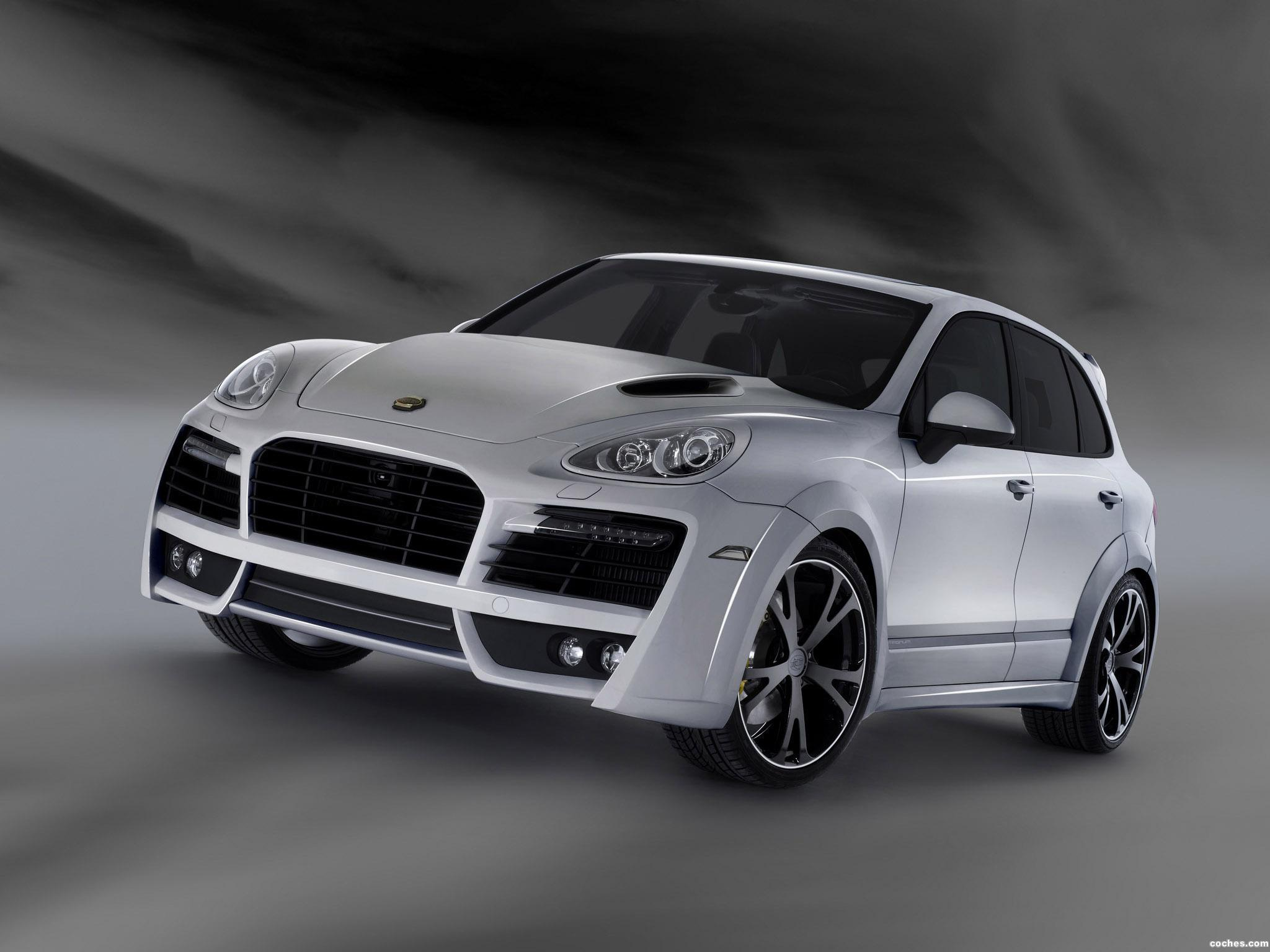 Foto 0 de TechArt Porsche Cayenne Turbo 2011