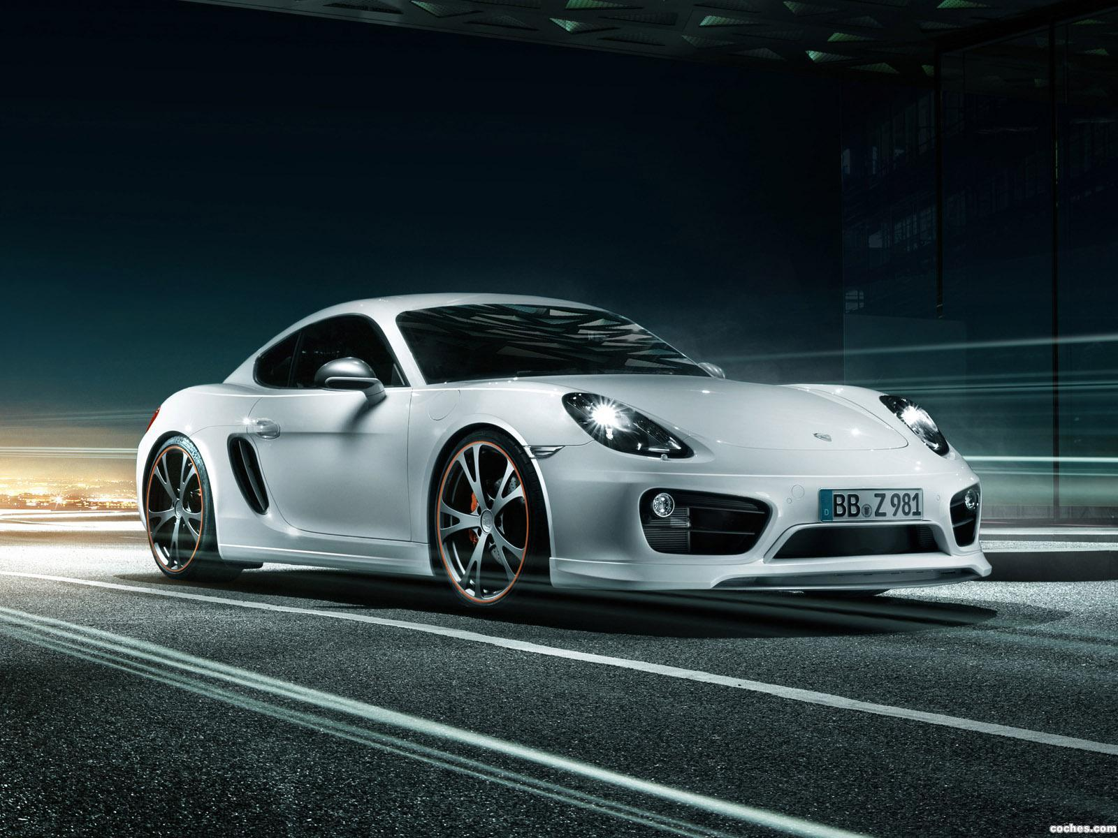 Foto 4 de TechArt Porsche Cayman 2013