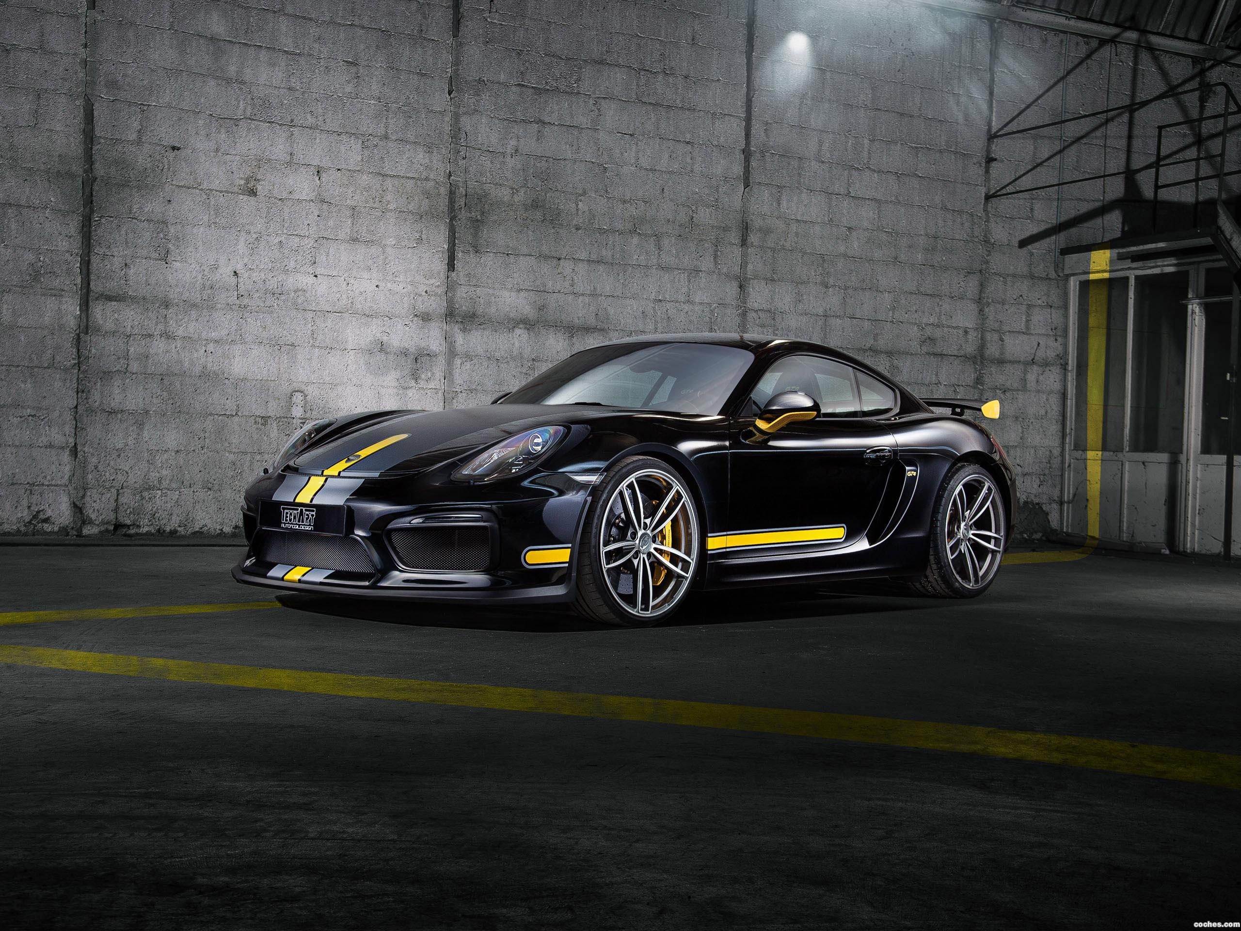 Foto 0 de Techart Porsche Cayman GT4 981C 2016