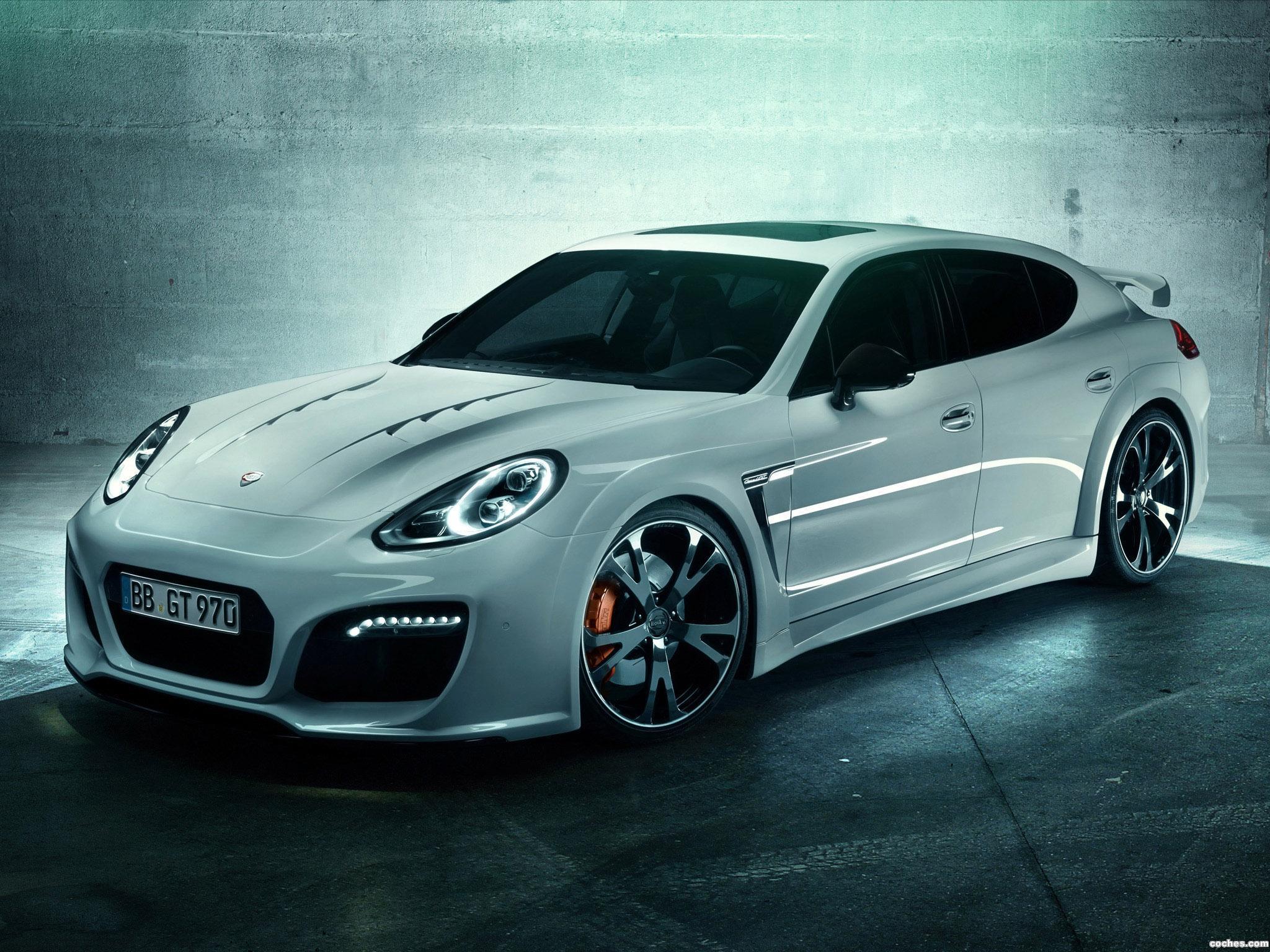 Foto 0 de TechArt Porsche Panamera Grand GT 970 2013