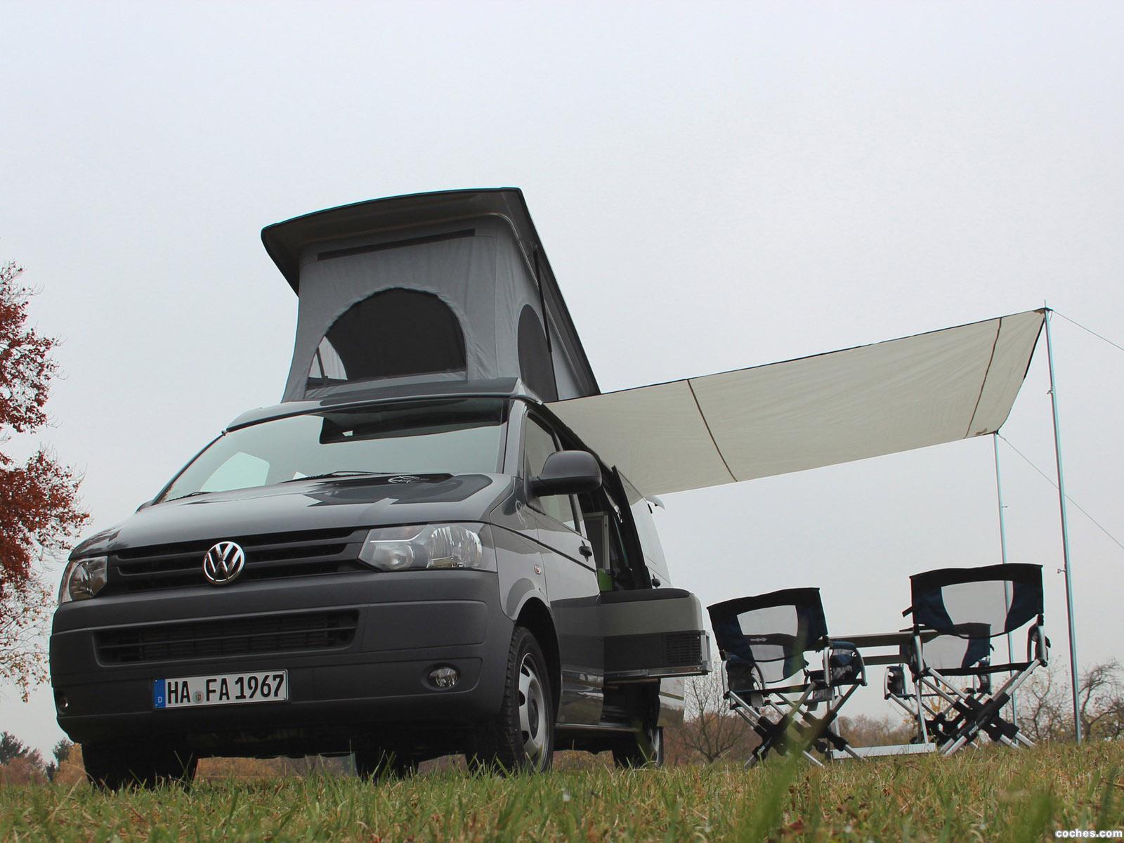 Foto 0 de Terra Camper Volkswagen Transporter T5 Tecamp 2013