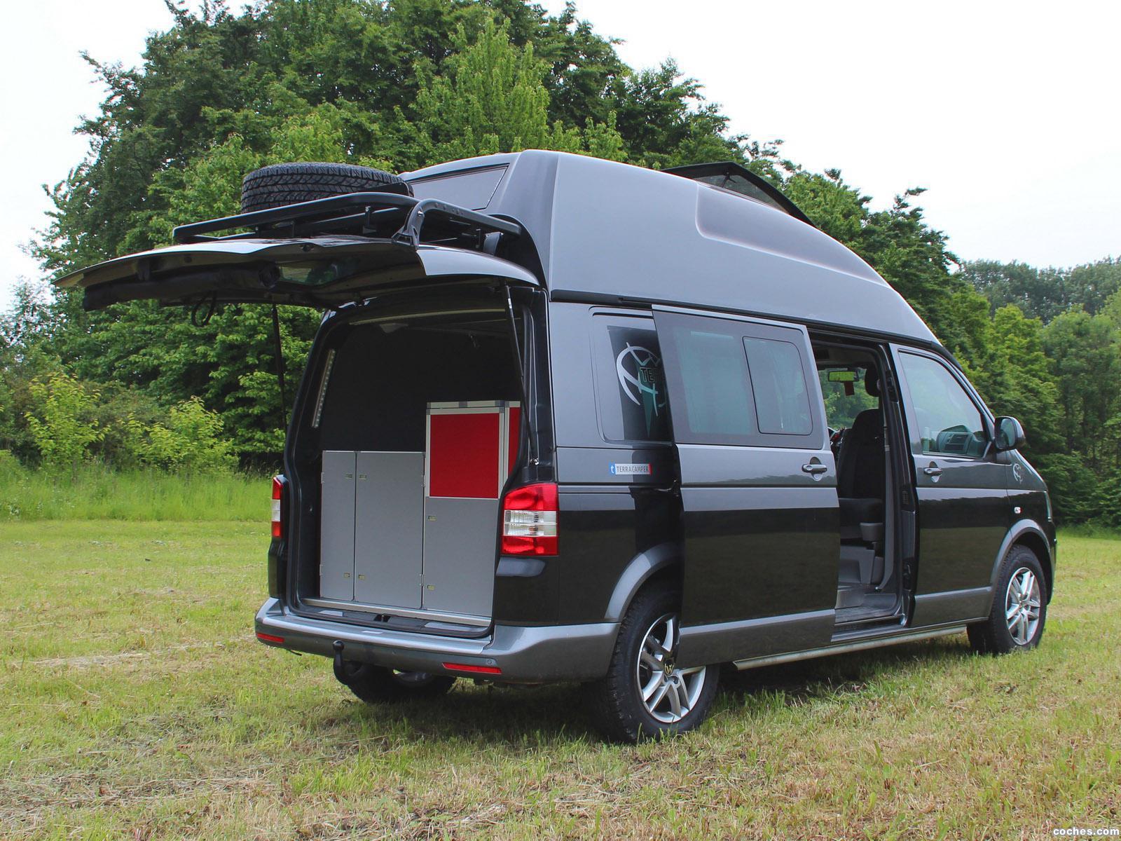 Fotos De Volkswagen Terra Camper Transporter T5 Terock