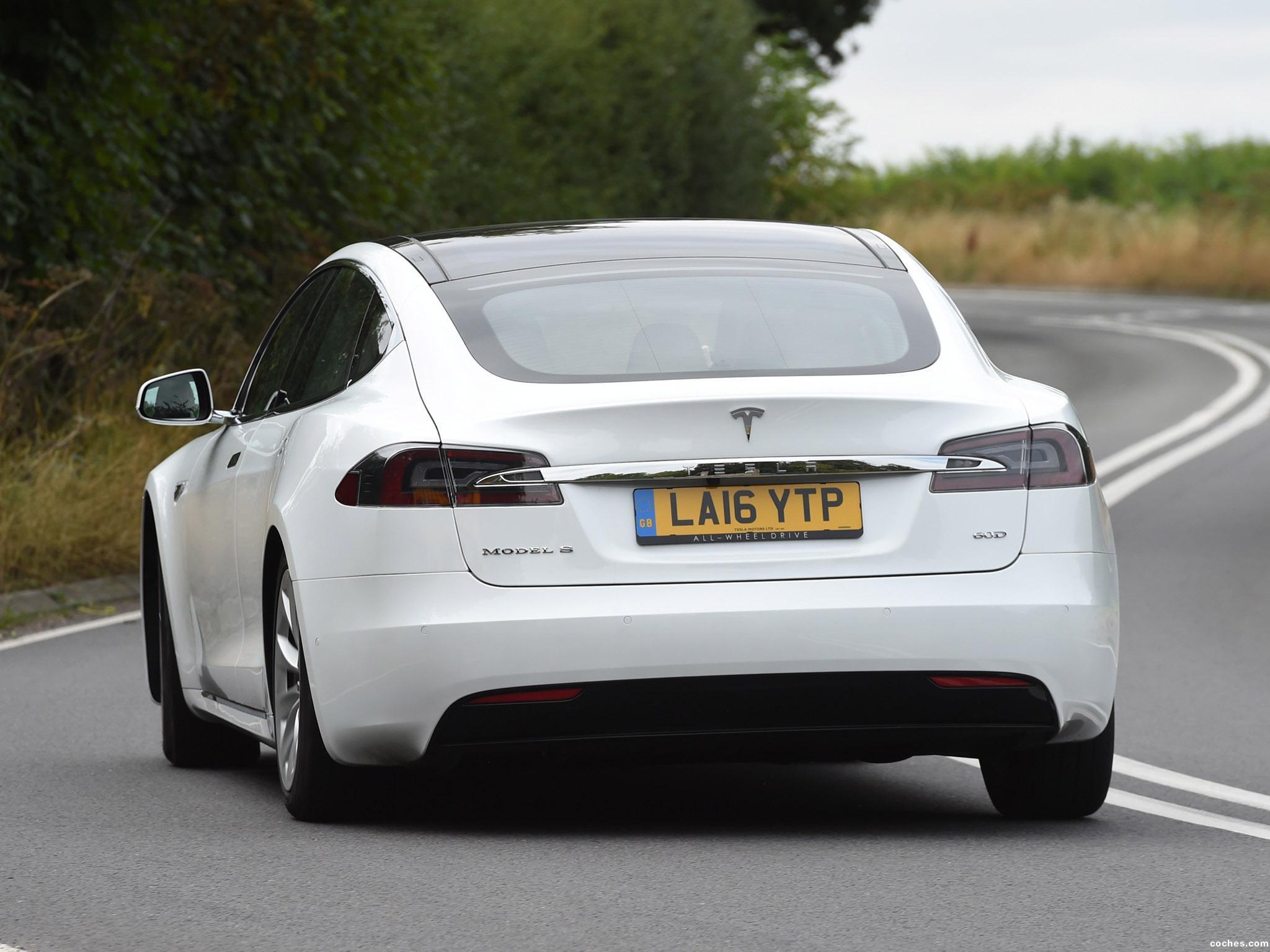 Foto 4 de Tesla Model S 60D UK 2016