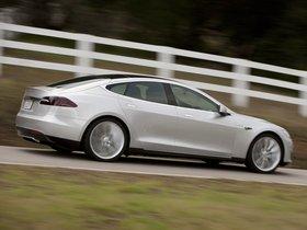 Ver foto 2 de Tesla Model S Alpha 2011