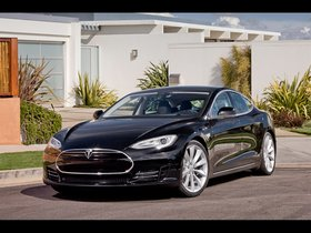 Fotos de Tesla Model S Alpha 2011