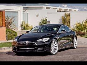 Ver foto 1 de Tesla Model S Alpha 2011