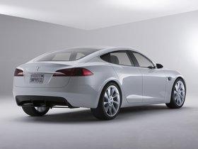 Ver foto 17 de Tesla Model S Concept 2009