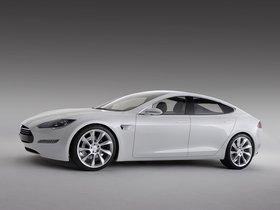 Ver foto 3 de Tesla Model S Concept 2009