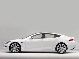 Ver foto 2 de Tesla Model S Concept 2009