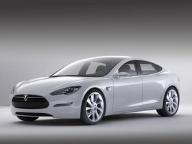 Fotos de Tesla Model S Concept 2009