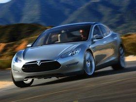 Ver foto 10 de Tesla Model S Concept 2009