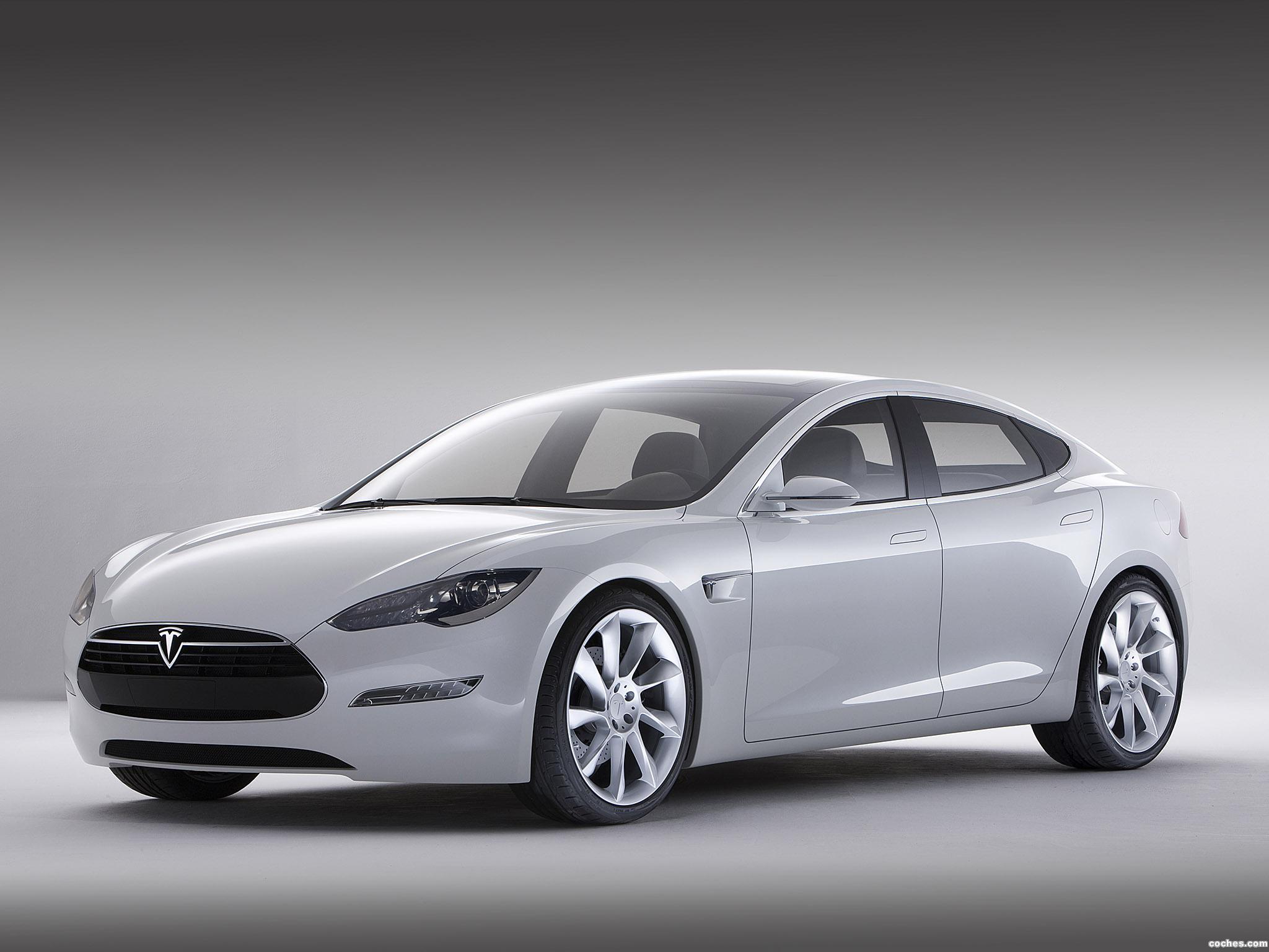 Foto 0 de Tesla Model S Concept 2009