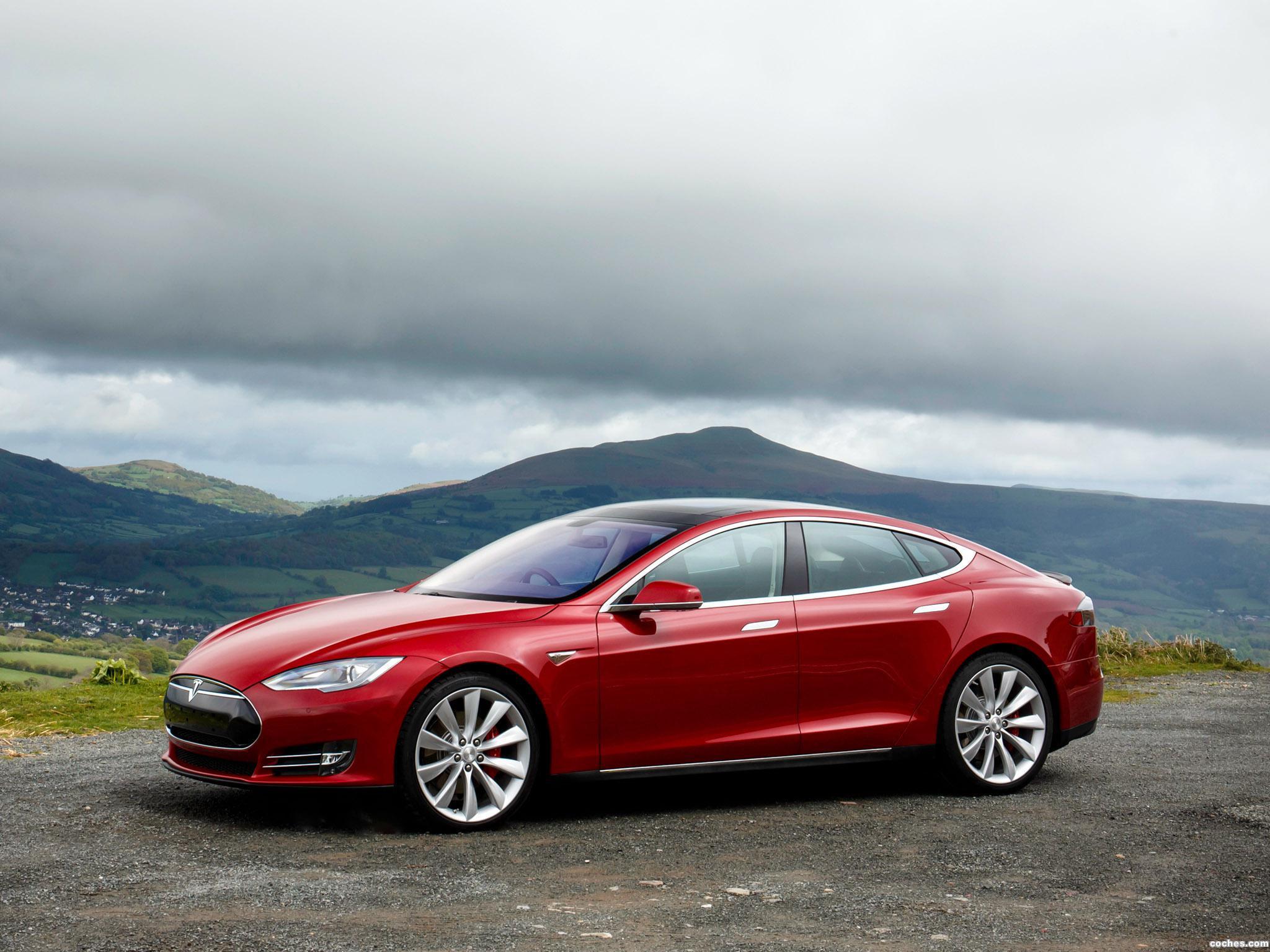 Foto 7 de Tesla Model S P85 UK 2014