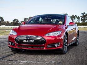Ver foto 1 de Tesla Model S P85D Australia 2014