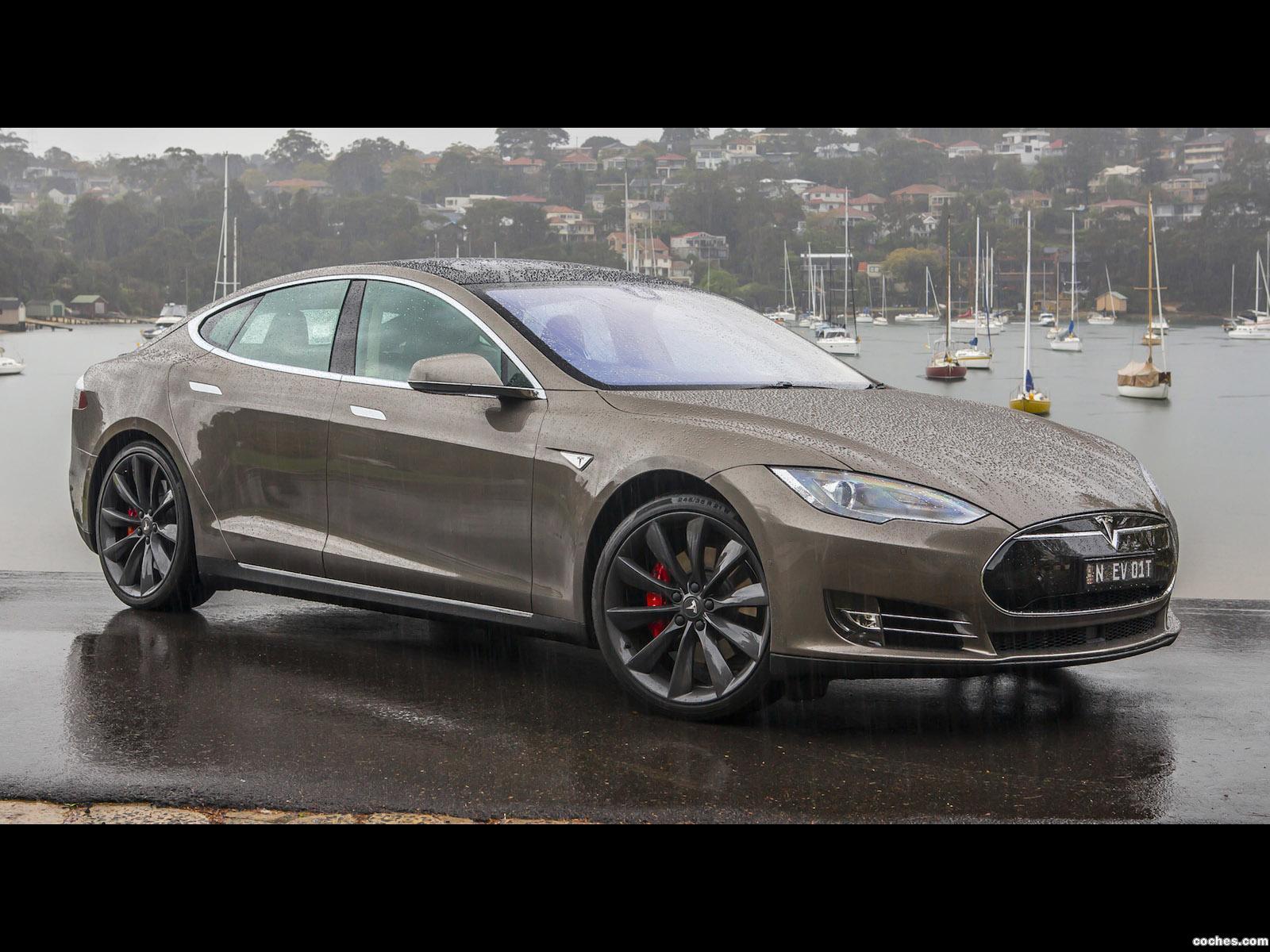 Foto 8 de Tesla Model S P85D Australia 2014