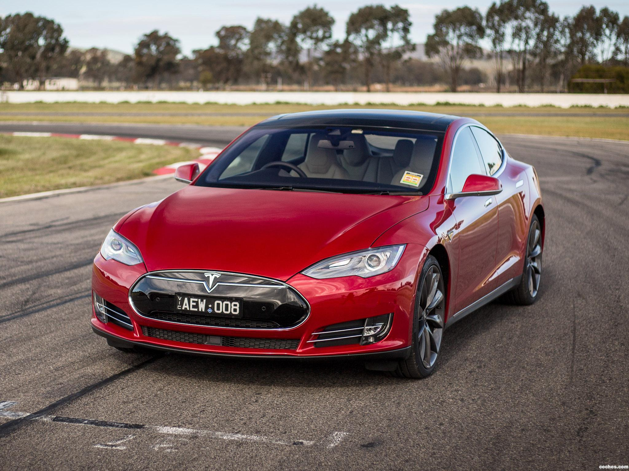 Foto 7 de Tesla Model S P85D Australia 2014