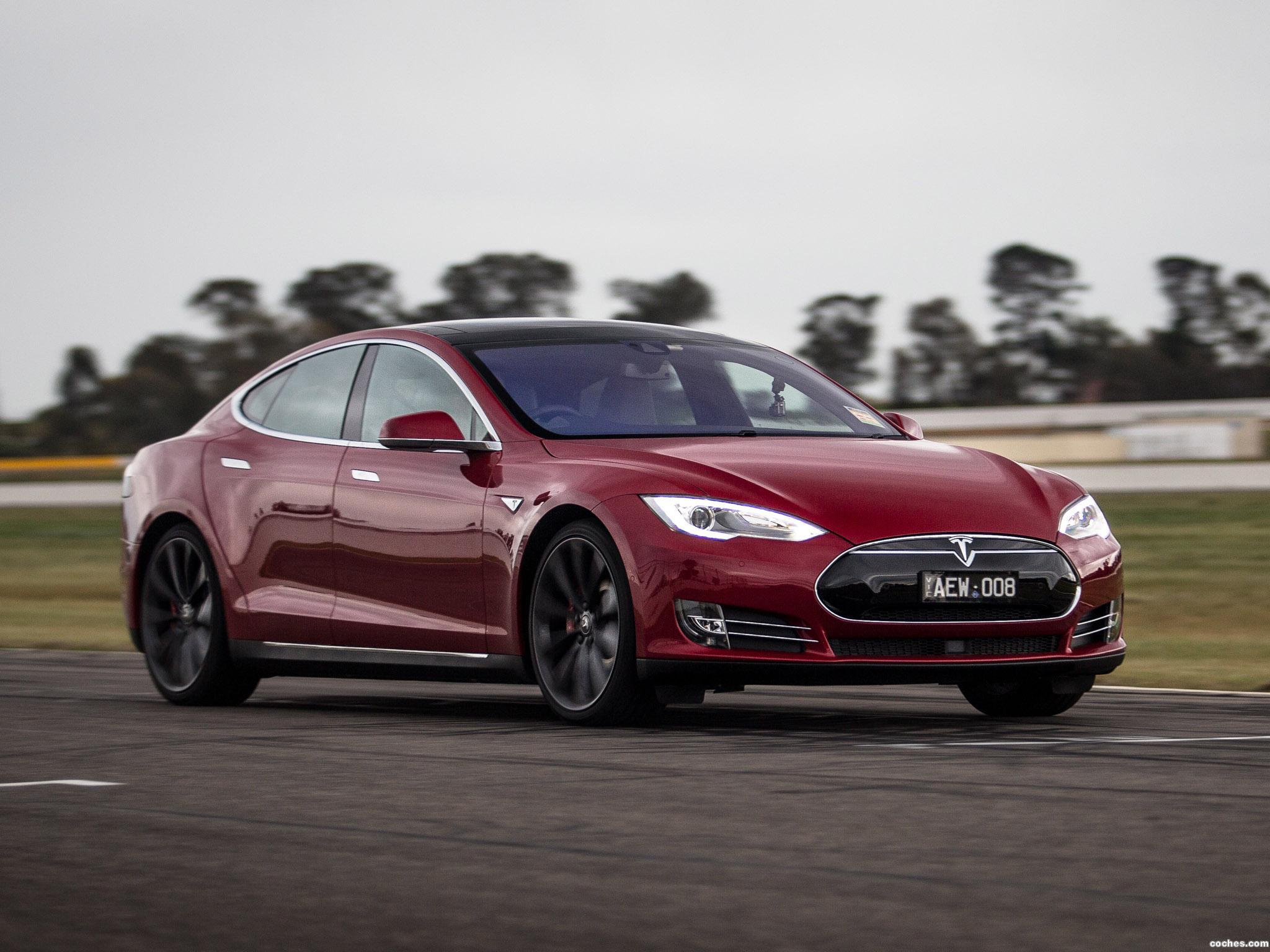 Foto 3 de Tesla Model S P85D Australia 2014