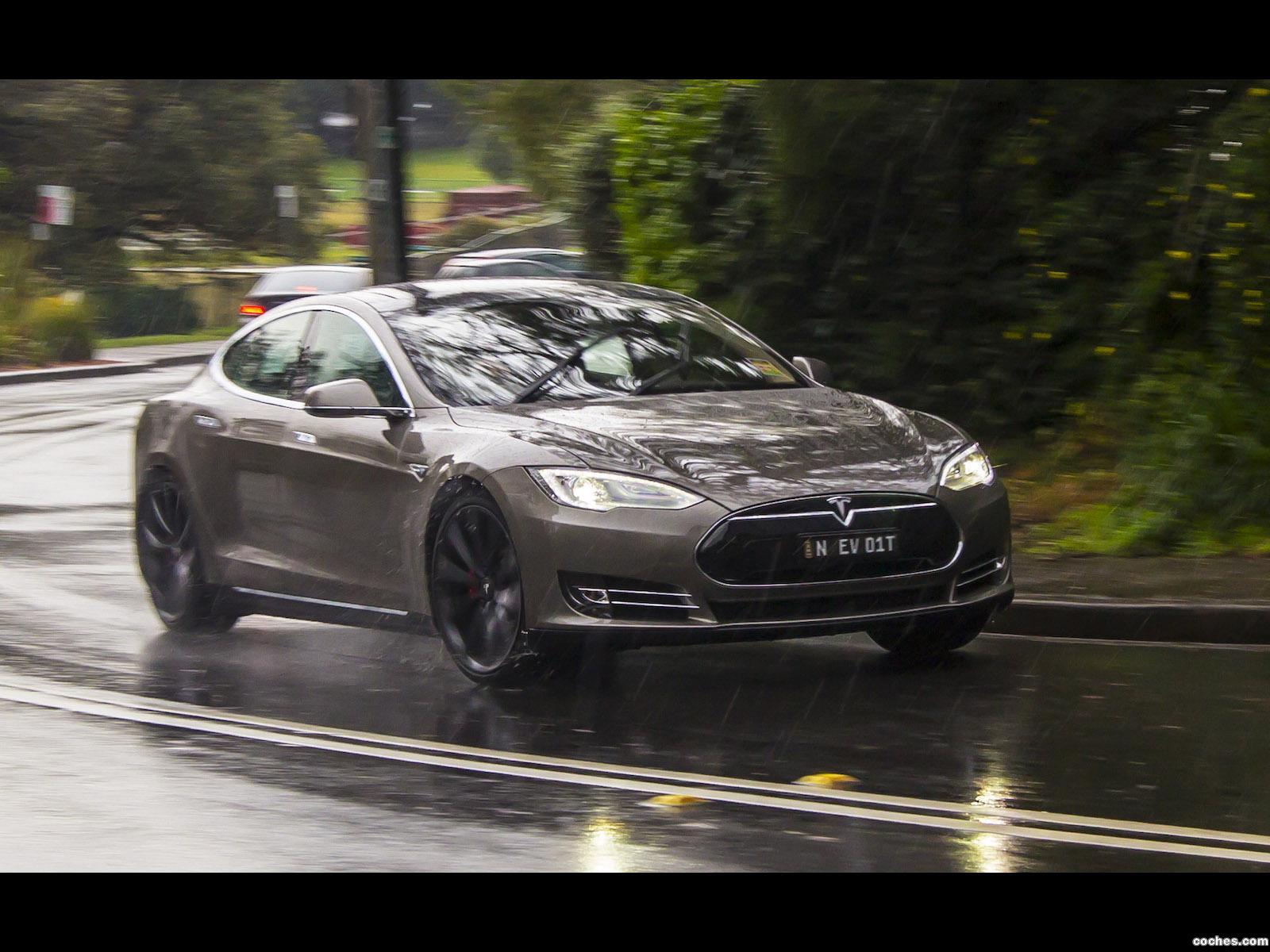Foto 11 de Tesla Model S P85D Australia 2014