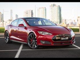 Ver foto 1 de Tesla Model S P90D Australia 2016