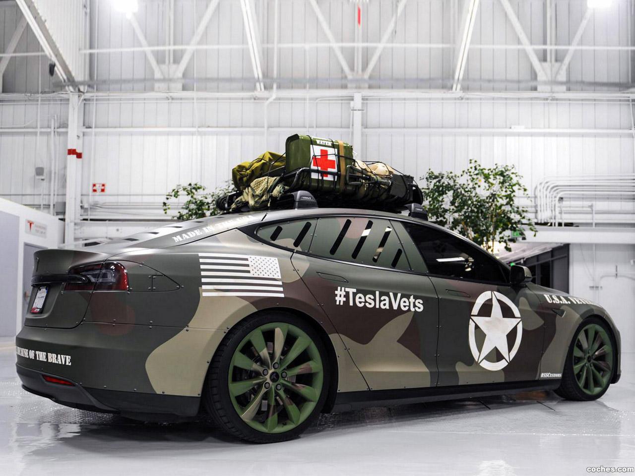 Foto 2 de Tesla Model S vets Project by SS Customs 2014