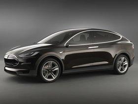 Fotos de Tesla Model-X Prototype 2012