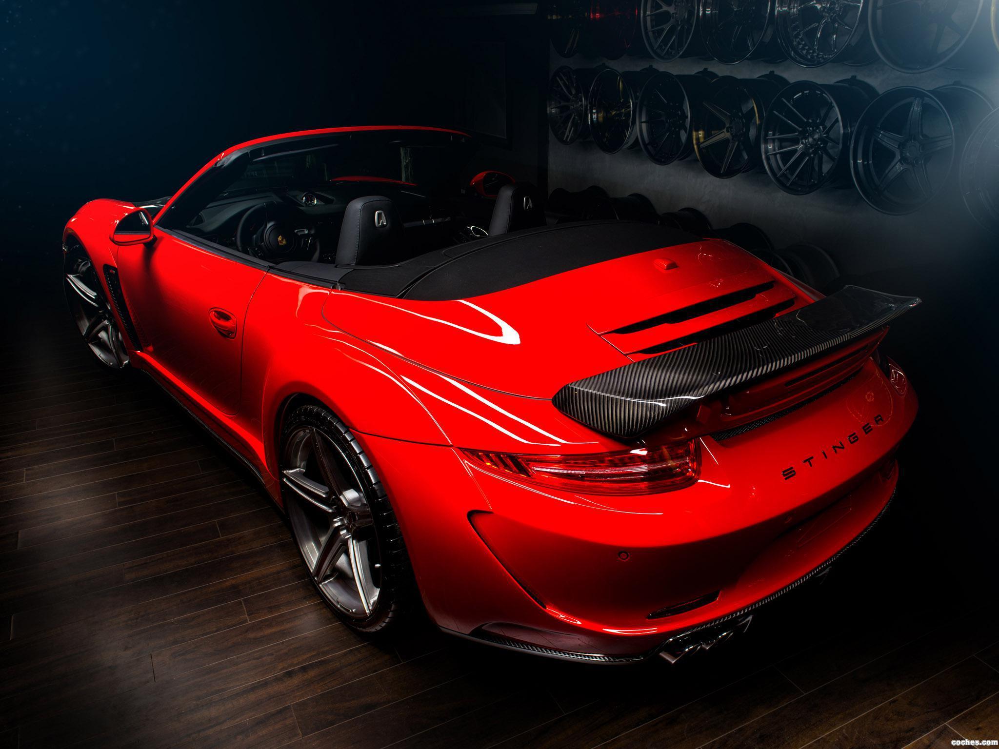 Foto 1 de Porsche Topcar 911 Carrera Stinger Cabriolet 991 2014