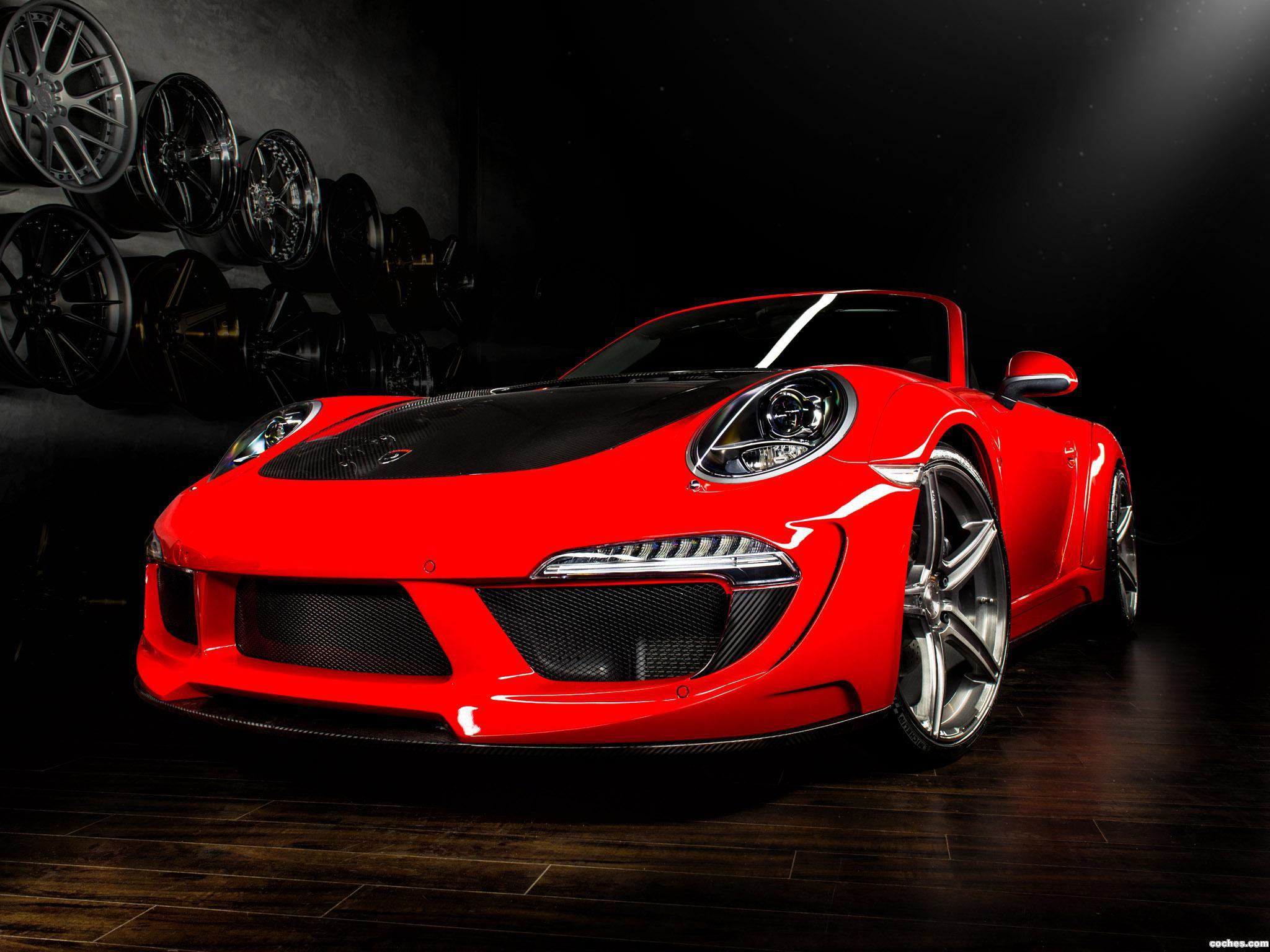 Foto 0 de Porsche Topcar 911 Carrera Stinger Cabriolet 991 2014