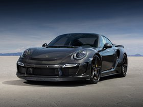 Fotos de Topcar Porsche 911 Turbo Stinger GTR Carbon Edition 991 2015